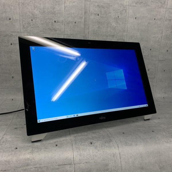 一体型デスクトップパソコン,富士通,FUJITSU,大画面,液晶